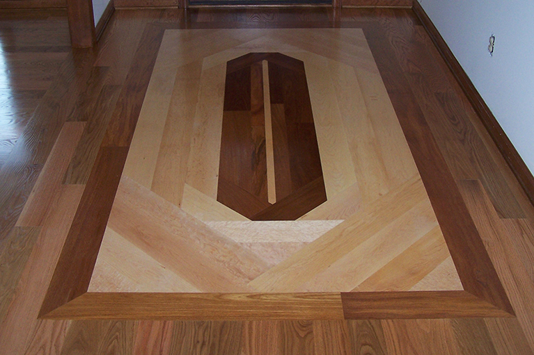 Hardwood Inlays and Designs
